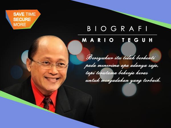 Biografi Mario Teguh: Saya Anak Bugis, dan Berani