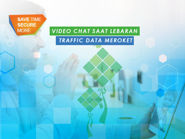 Lebaran Bikin Traffic Data Melesat